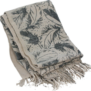Flight Cotton Throw
