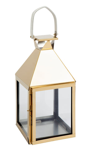 Malua Lantern - Medium Gold