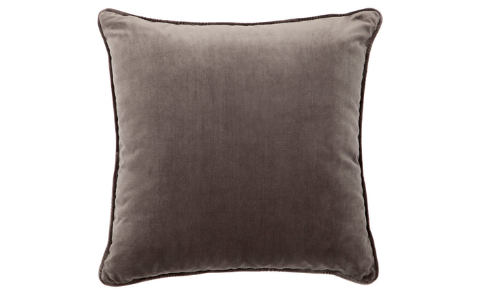 Leah Cushion - Charcoal Feather Fill 55x55