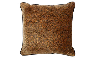 Cheetah Cushion - Sq Feather Fill 55x55