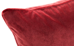 Leah Cushion - Bordeaux Feather Fill 55x55