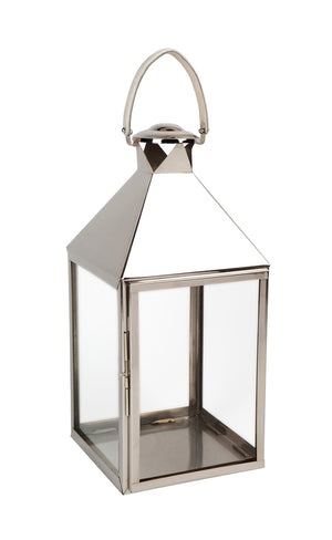 Malua Lantern - Large Nickel