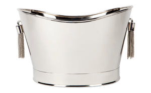 Tassell Champagne Bucket - Nickel
