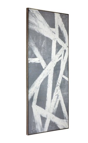 Shades of Grey Wall Art 100 x 235