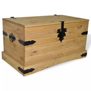 Storage Chest Mexican Pine Corona Range 91x49.5x47 cm