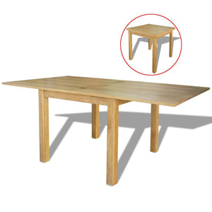 Extendable Table Oak 170x85x75 cm