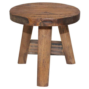 Stool Solid Reclaimed Wood sku-244508