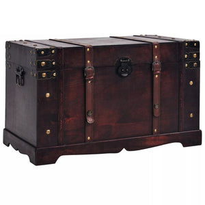 Vintage Treasure Chest Wood 66x38x40 cm