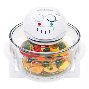 Halogen Convection Oven with Extension Ring 1400 W 17 L