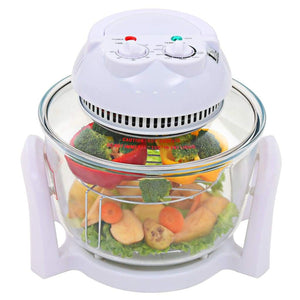 Halogen Convection Oven with Extension Ring 800 W 10 L