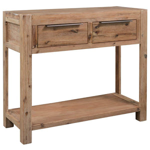 Console Table 82x33x73 cm Solid Acacia Wood