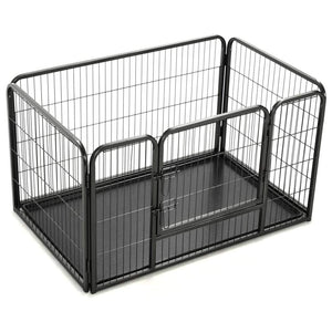 Puppy Playpen Steel 125x80x70 cm