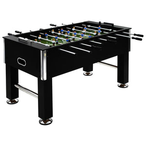 Football Table Steel 60 kg 140x74.5x87.5 cm Black