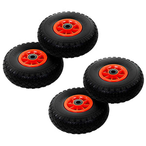 Sack Truck Wheels 4 pcs Solid PU 3.00-4