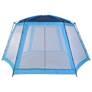 Pool Tent Fabric 590x520x250 cm Blue