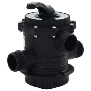 "Multiport Valve for Sand Filter ABS 1.5"" 6-way sku 91729"