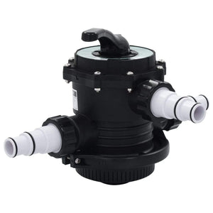 "Multiport Valve for Sand Filter ABS 1.5"" 6-way sku 91730"