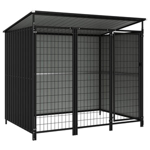Outdoor Dog Kennel 193x133x163 cm sku-144044