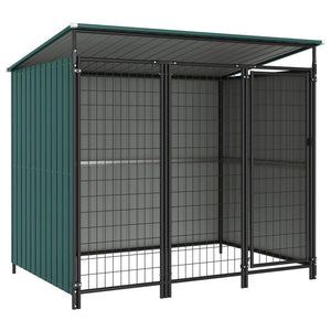Outdoor Dog Kennel 193x133x163 cm sku-144045