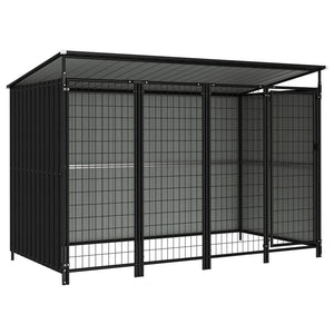 Outdoor Dog Kennel 253x133x163 cm sku-144046
