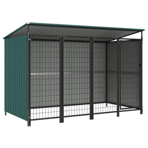 Outdoor Dog Kennel 253x133x163 cm sku-144047