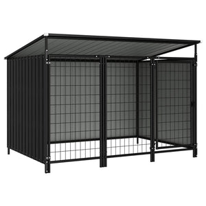 Outdoor Dog Kennel 193x133x113 cm sku-144050