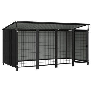 Outdoor Dog Kennel 253x133x113 cm sku-144052