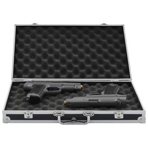 Gun Case Aluminium ABS Black