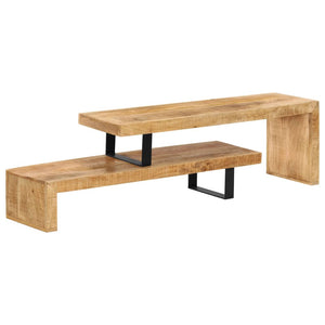 TV Stand Solid Mango Wood