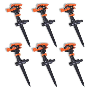 Impulse Sprinkler Garden Watering 6 pcs