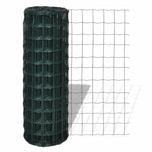 Euro Fence Steel 10x0.8 m Green sku-140572