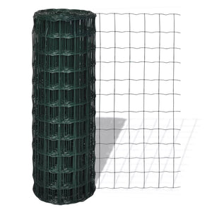 Euro Fence Steel 25x0.8 m Green sku-140578