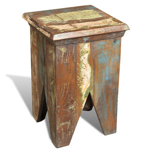 Stool Solid Reclaimed Wood