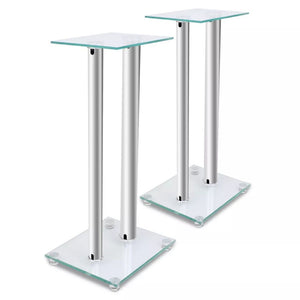 2 pcs Glass Speaker Stand sku 50337