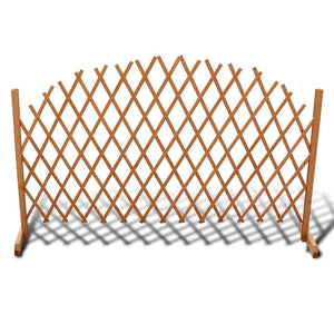 Trellis Fence Solid Wood 180x100 cm