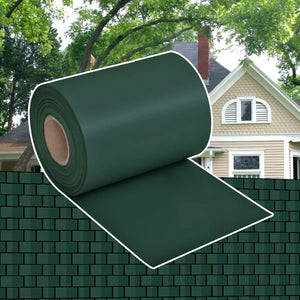 Garden Privacy Screen PVC 70x0.19 m Green - sku 41618