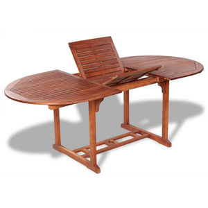 Garden Table 200x100x74 cm Solid Acacia Wood