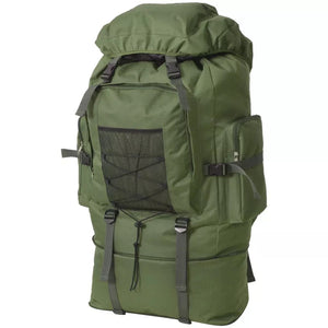 Army-Style Backpack XXL 100 L Green