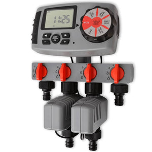 Automatic Irrigation Timer with 4 Stations 3 V