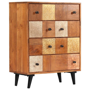 Chest of Drawers 60x30x75 cm Solid Acacia Wood