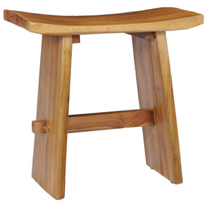 Stool Solid Teak Wood sku 281655