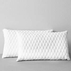 Pillows 2 pcs 80x40x14 cm Memory Foam
