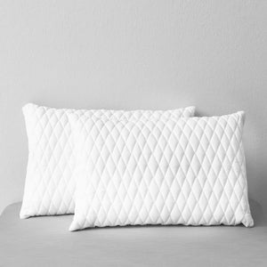 Pillows 2 pcs 60x40x14 cm Memory Foam