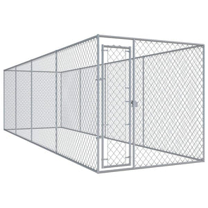Outdoor Dog Kennel 760x192x185 cm