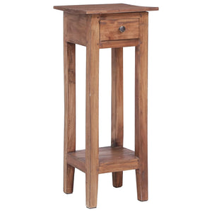 Plant Stand 30x30x75 cm Solid Reclaimed Wood - sku 283923
