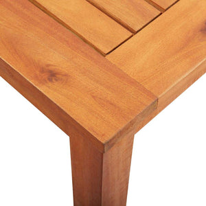 Garden Table 215x90x74 cm Solid Acacia Wood