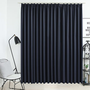 Blackout Curtain with Hooks Anthracite 290x245 cm - sku 134425