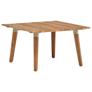 Garden Coffee Table 60x60x36 cm Solid Acacia Wood sku 46468