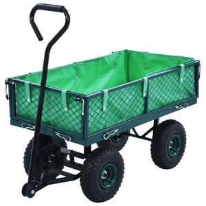 Garden Hand Trolley Green 250 kg
