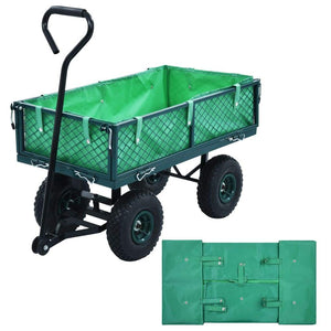 Garden Cart Liner Green Fabric sku-145728